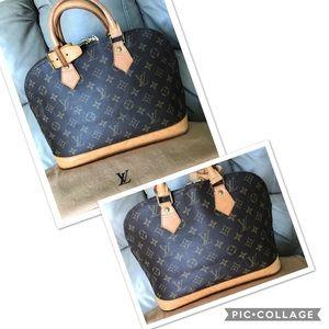 cd867a7c148b 💖Auth Louis Vuitton Alma 💝💝💝💝💝💝💝💝💝💝💝💝